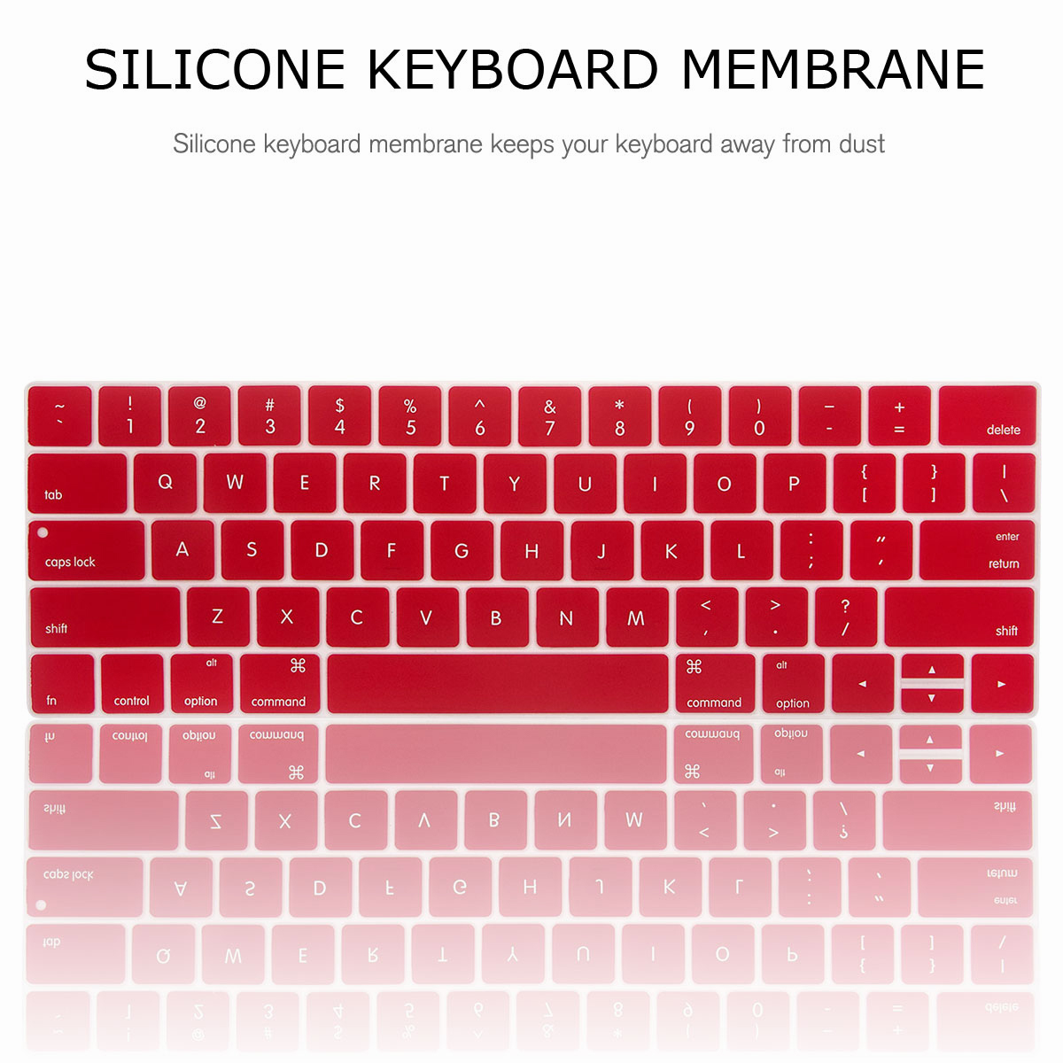 For-Macbook-Retina-12-034-13-034-15-034-Rubberized-Hard-Laptop-Case-Clear-Keyboard-Shell thumbnail 81