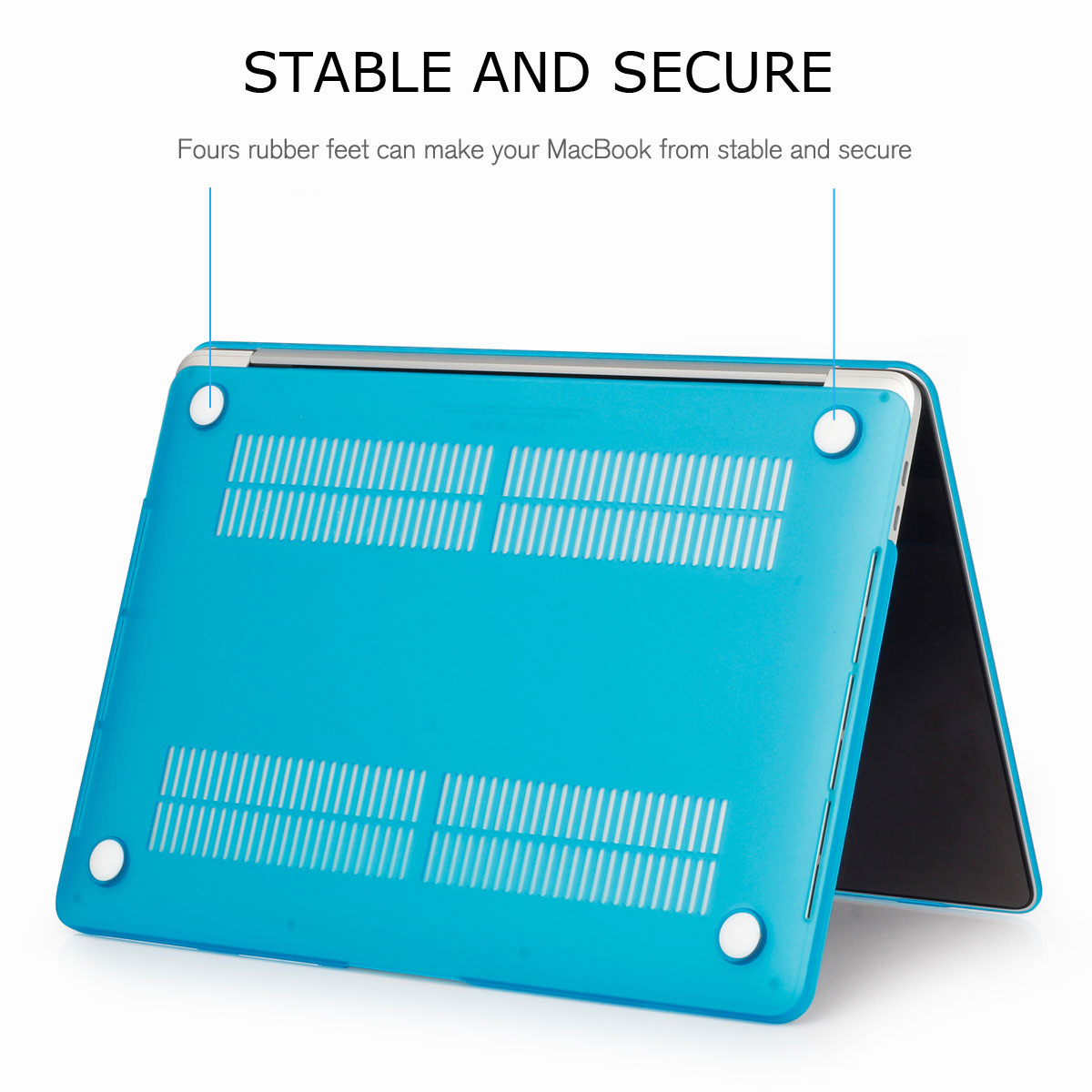 Shockproof-Rubberized-Matte-Hard-Case-Cover-For-Macbook-13-034-15-034-Inch-A1286-A1278 thumbnail 83