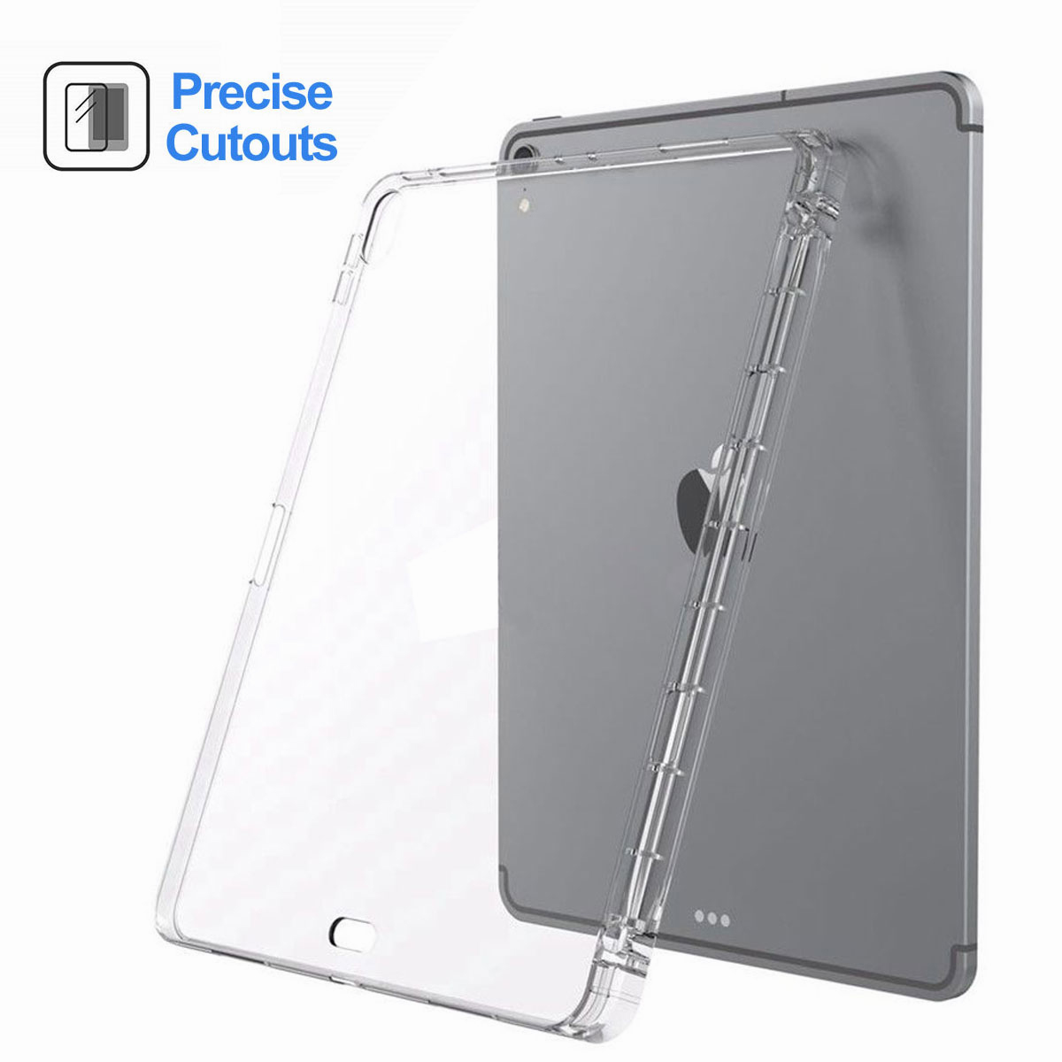 Transparent-Clear-Case-For-New-iPad-Pro-11-Inch-2018-Slim-Protective-Case-Cover thumbnail 18