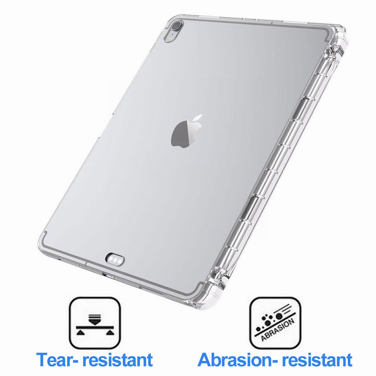 Transparent-Clear-Case-For-New-iPad-Pro-11-Inch-2018-Slim-Protective-Case-Cover thumbnail 20