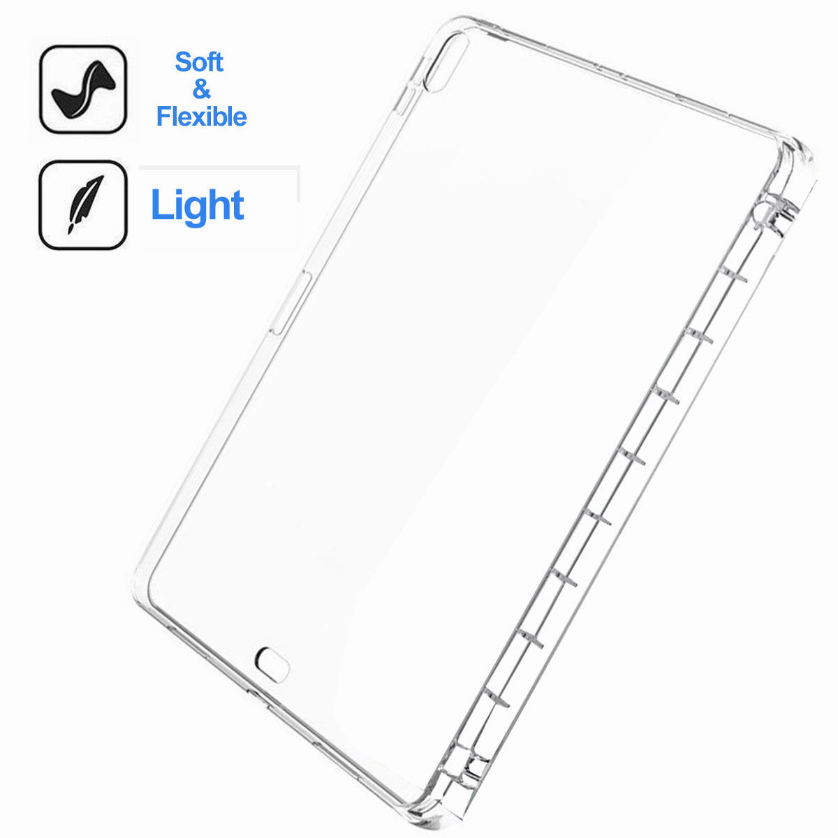 Transparent-Clear-Case-For-New-iPad-Pro-11-Inch-2018-Slim-Protective-Case-Cover thumbnail 21