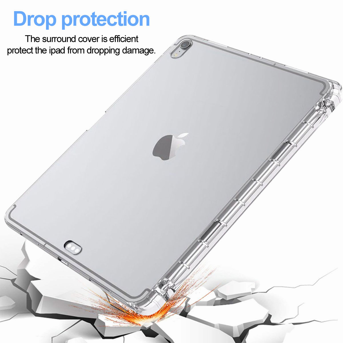 Transparent-Clear-Case-For-New-iPad-Pro-11-Inch-2018-Slim-Protective-Case-Cover thumbnail 16