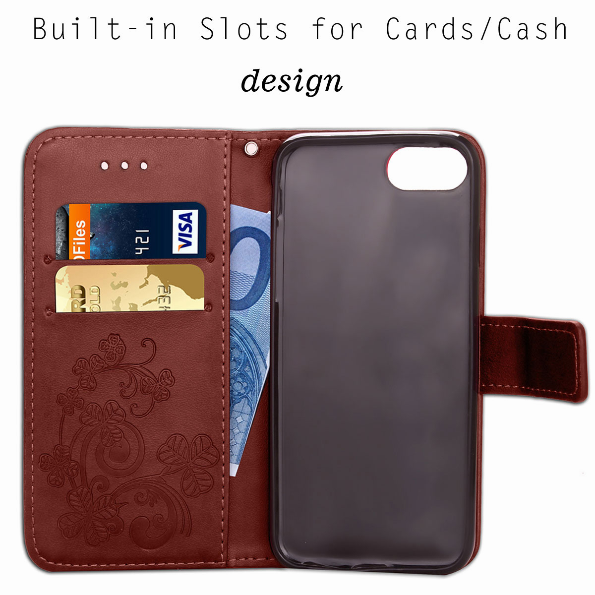 For-Apple-iPhone-Phones-Soft-Leather-Magnetic-Wallet-Card-Holder-Sim-Case-Cover thumbnail 18