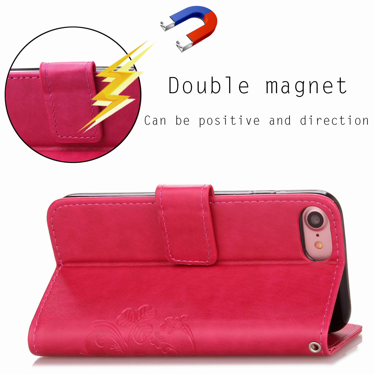 For-Apple-iPhone-Phones-Soft-Leather-Magnetic-Wallet-Card-Holder-Sim-Case-Cover thumbnail 22