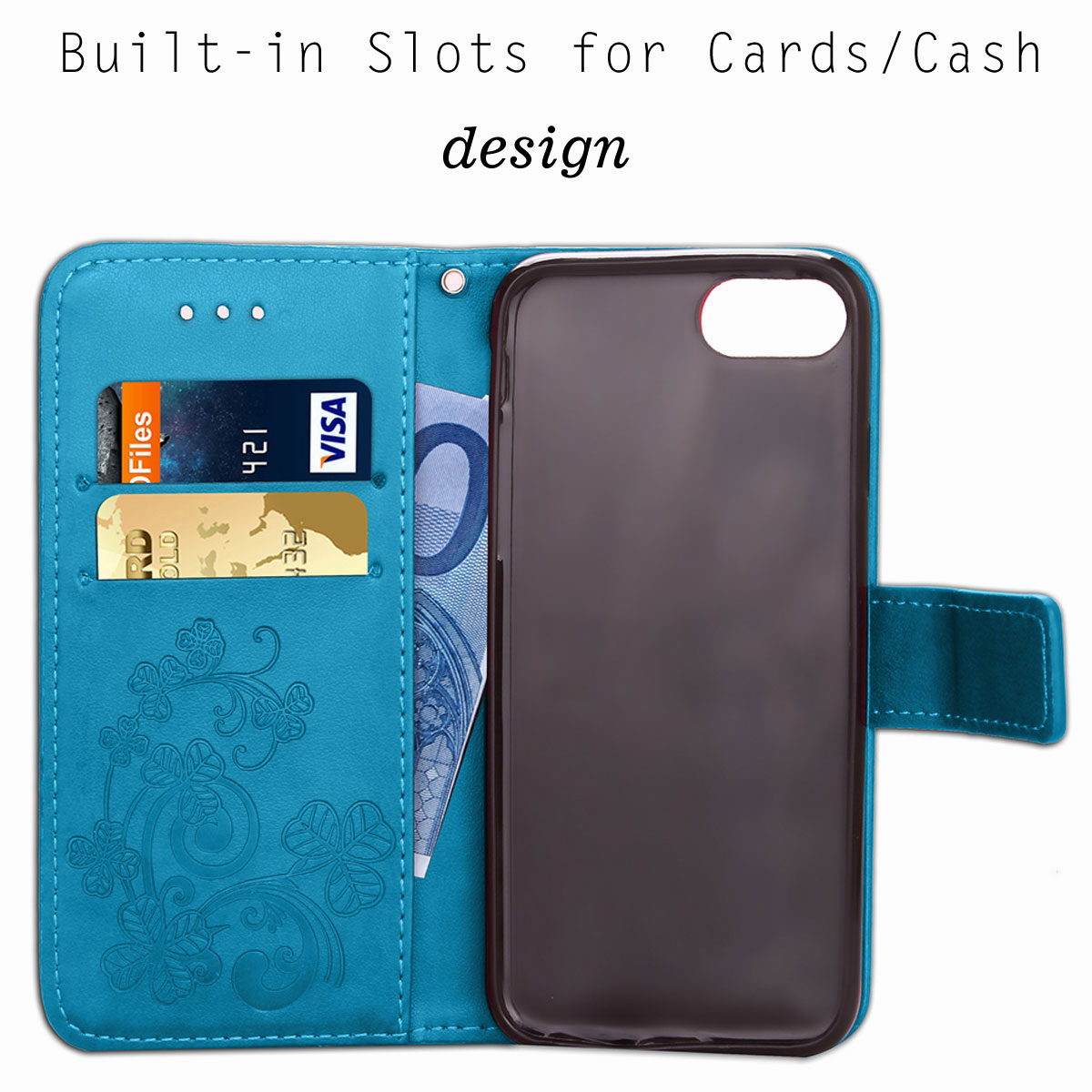 For-Apple-iPhone-Phones-Soft-Leather-Magnetic-Wallet-Card-Holder-Sim-Case-Cover thumbnail 30
