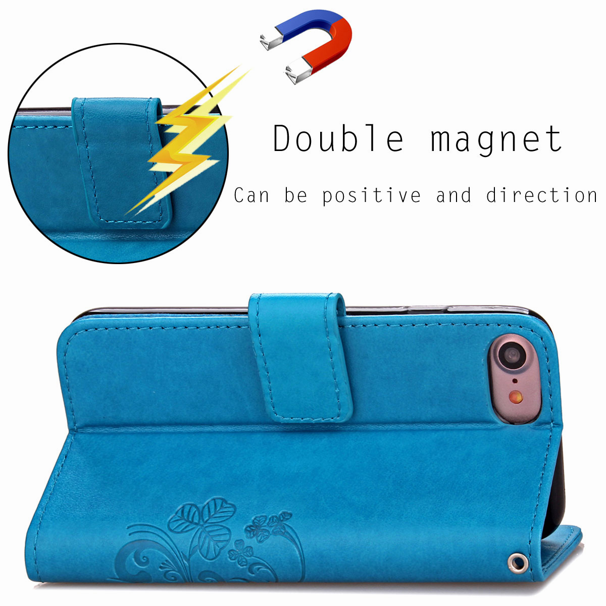 For-Apple-iPhone-Phones-Soft-Leather-Magnetic-Wallet-Card-Holder-Sim-Case-Cover thumbnail 28