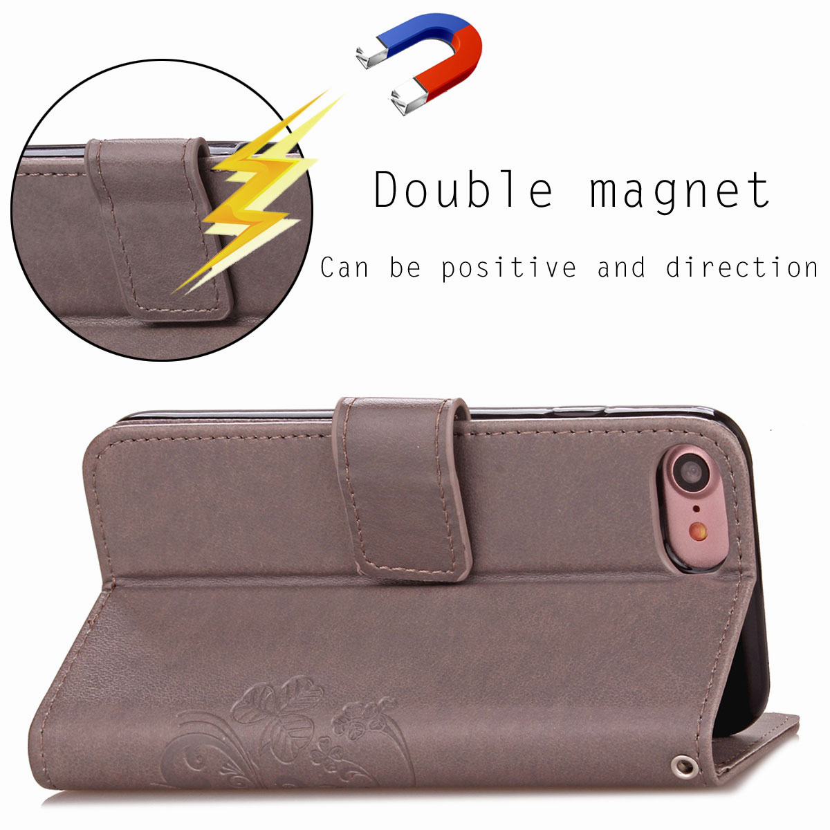 For-Apple-iPhone-Phones-Soft-Leather-Magnetic-Wallet-Card-Holder-Sim-Case-Cover thumbnail 34