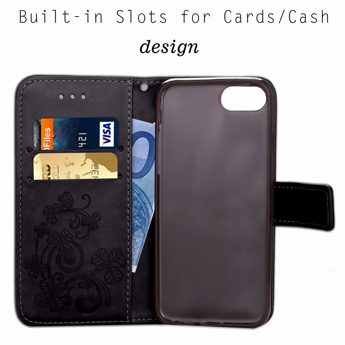 For-Apple-iPhone-Phones-Soft-Leather-Magnetic-Wallet-Card-Holder-Sim-Case-Cover thumbnail 42