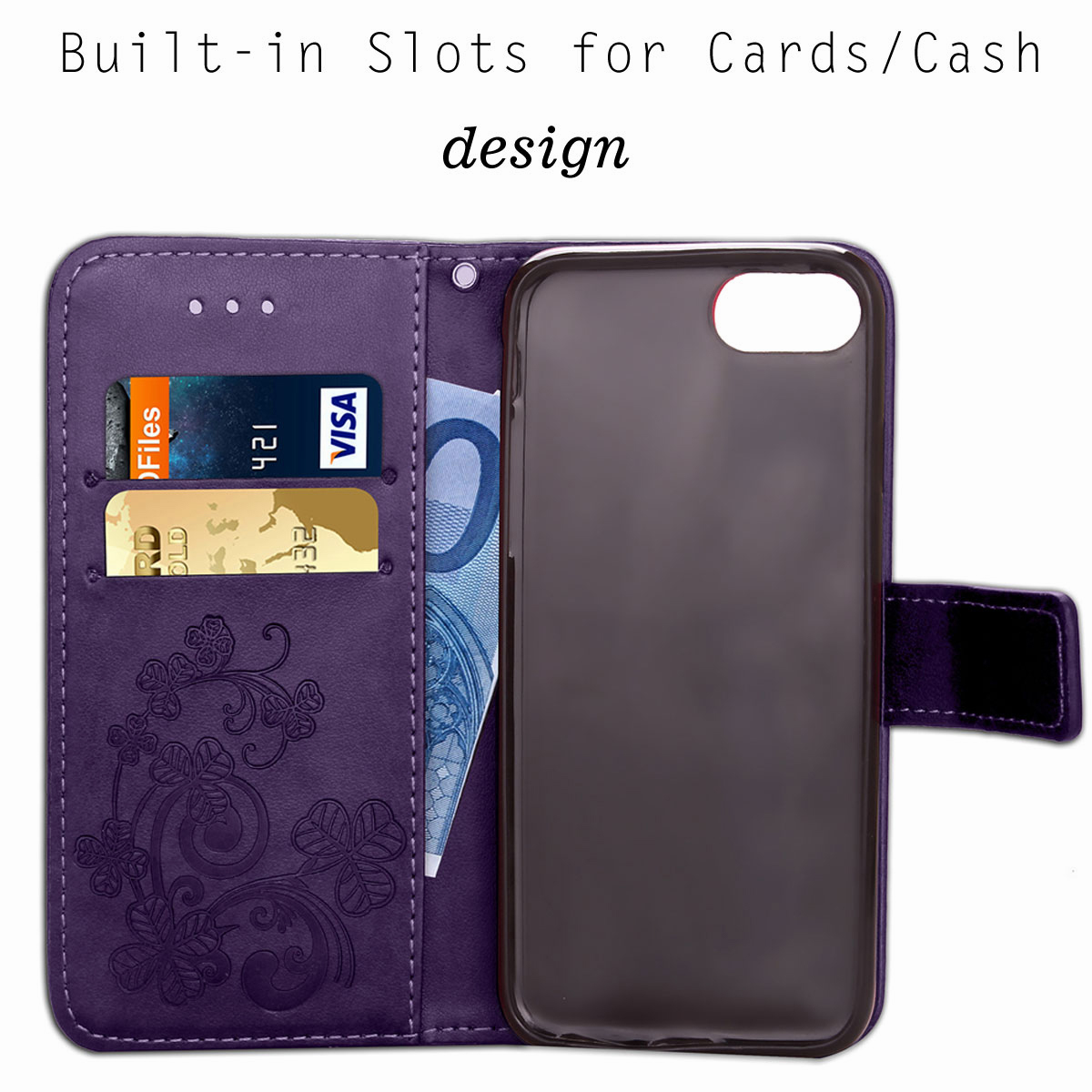 For-Apple-iPhone-Phones-Soft-Leather-Magnetic-Wallet-Card-Holder-Sim-Case-Cover thumbnail 48