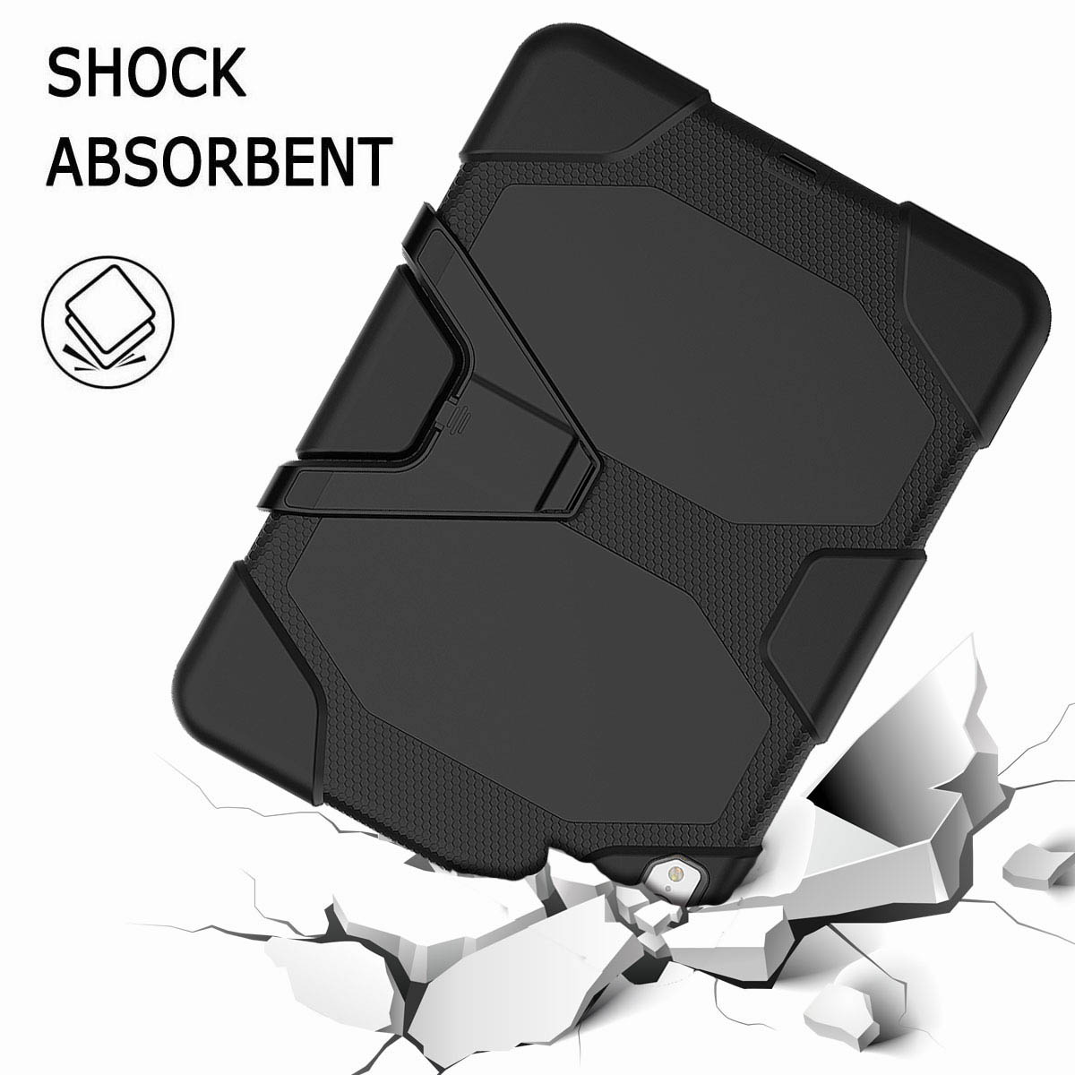 For-iPad-Pro-11-039-039-2018-Shockproof-Hybrid-Rugged-Stand-Case-with-Screen-Protector thumbnail 19