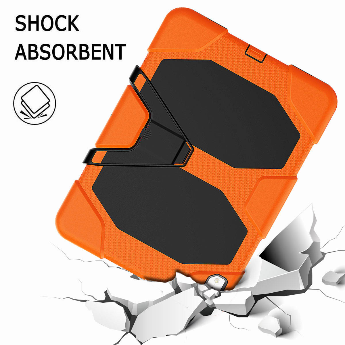 For-iPad-Pro-11-039-039-2018-Shockproof-Hybrid-Rugged-Stand-Case-with-Screen-Protector thumbnail 26