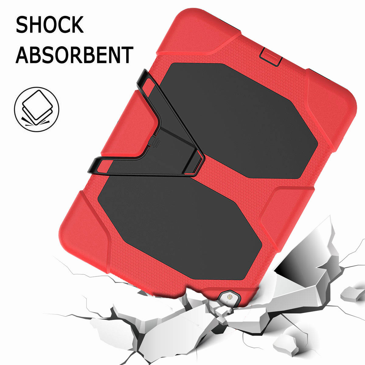 For-iPad-Pro-11-039-039-2018-Shockproof-Hybrid-Rugged-Stand-Case-with-Screen-Protector thumbnail 33