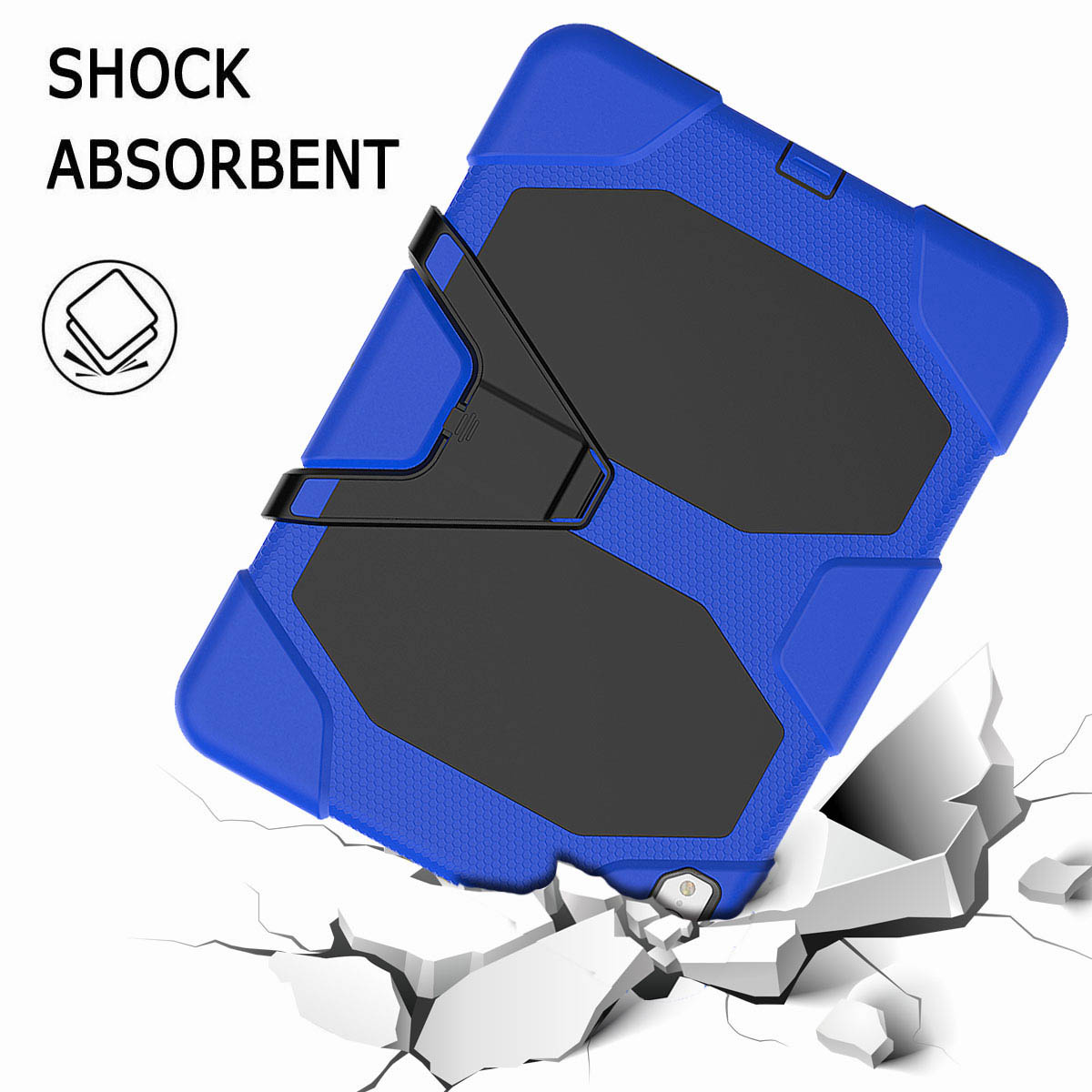 For-iPad-Pro-11-039-039-2018-Shockproof-Hybrid-Rugged-Stand-Case-with-Screen-Protector thumbnail 40