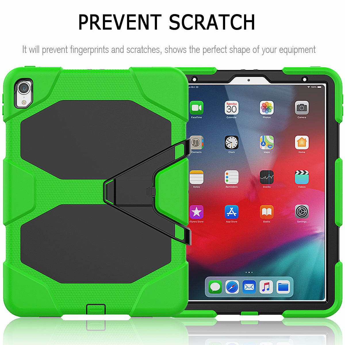 For-iPad-Pro-11-039-039-2018-Shockproof-Hybrid-Rugged-Stand-Case-with-Screen-Protector thumbnail 42