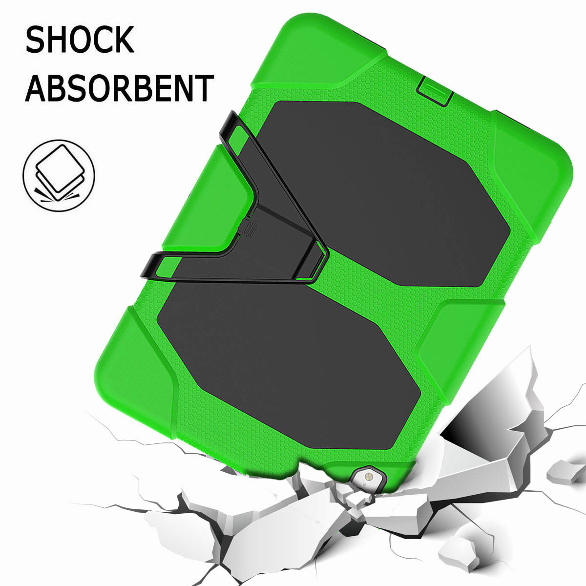For-iPad-Pro-11-039-039-2018-Shockproof-Hybrid-Rugged-Stand-Case-with-Screen-Protector thumbnail 47
