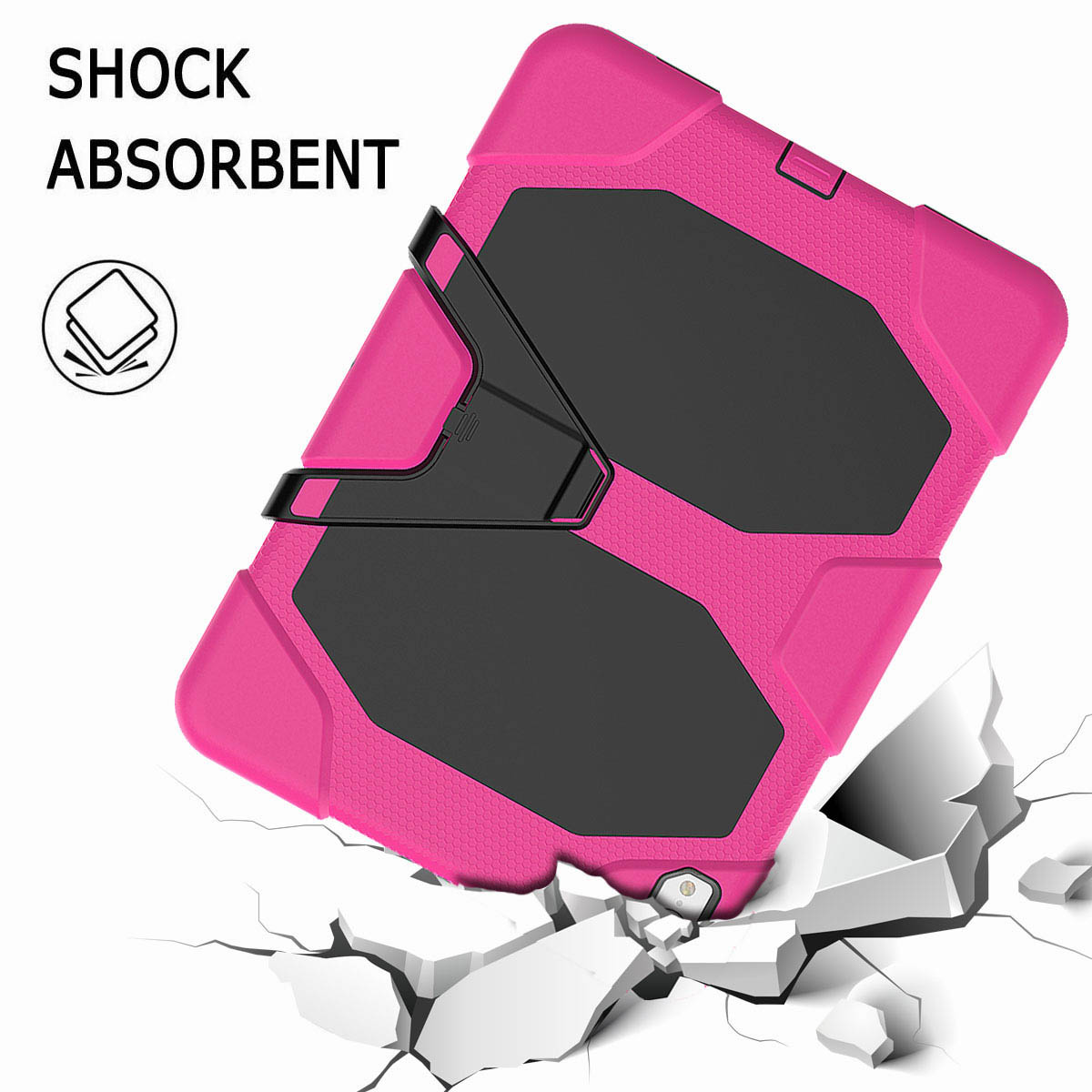 For-iPad-Pro-11-039-039-2018-Shockproof-Hybrid-Rugged-Stand-Case-with-Screen-Protector thumbnail 54