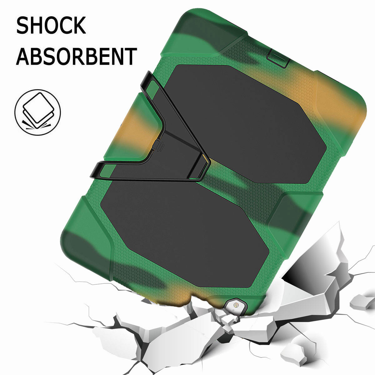 For-iPad-Pro-11-039-039-2018-Shockproof-Hybrid-Rugged-Stand-Case-with-Screen-Protector thumbnail 61