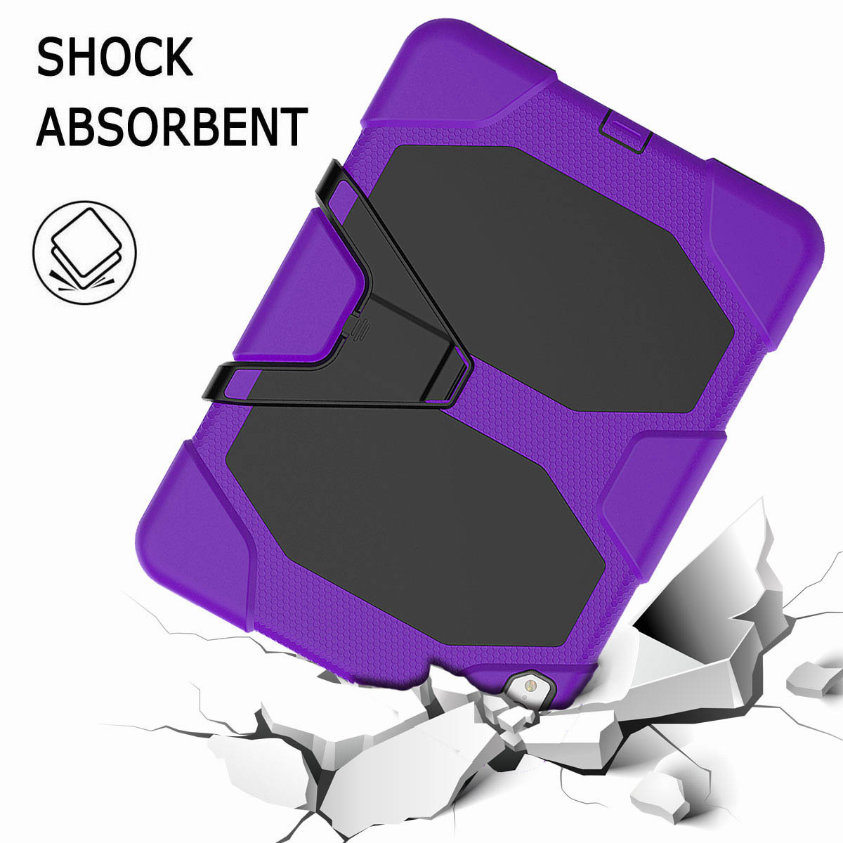 For-iPad-Pro-11-039-039-2018-Shockproof-Hybrid-Rugged-Stand-Case-with-Screen-Protector thumbnail 68