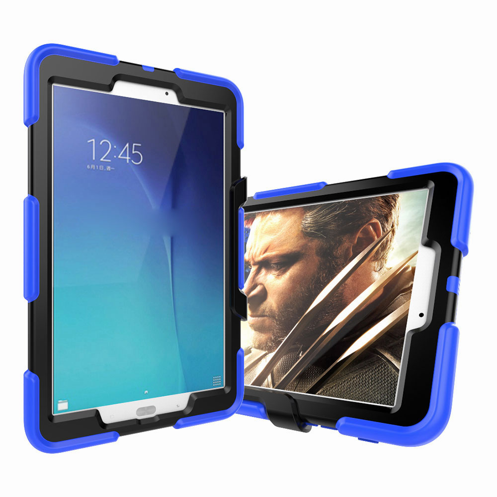 shockproof stand tablet case screen protector for samsung. Black Bedroom Furniture Sets. Home Design Ideas