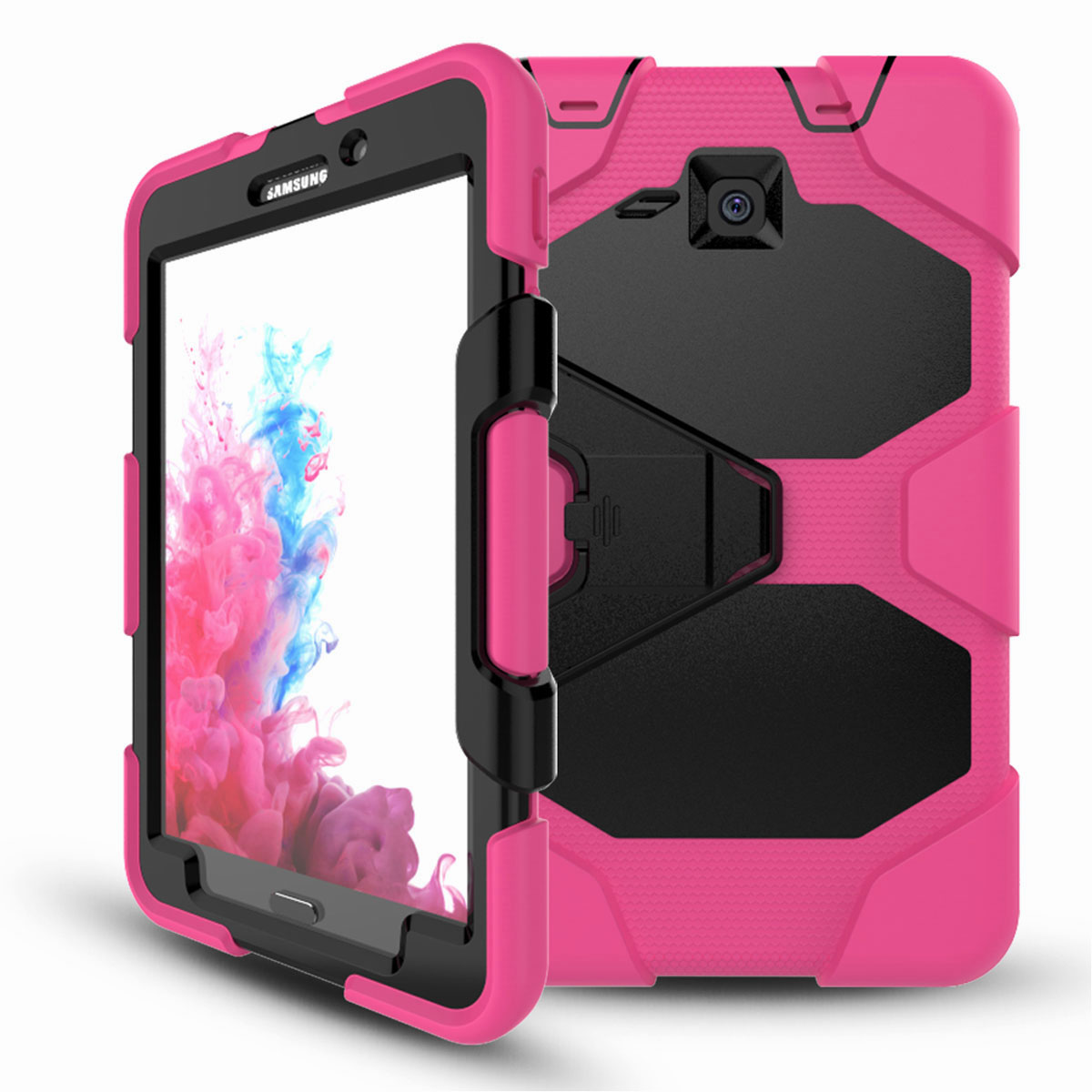 Tablet-Case-For-Samsung-Galaxy-Tab-A-E-S2-Screen-Protective-Hybrid-Rubber-Cover thumbnail 15