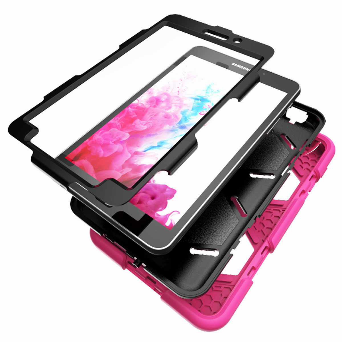 Tablet-Case-For-Samsung-Galaxy-Tab-A-E-S2-Screen-Protective-Hybrid-Rubber-Cover thumbnail 14