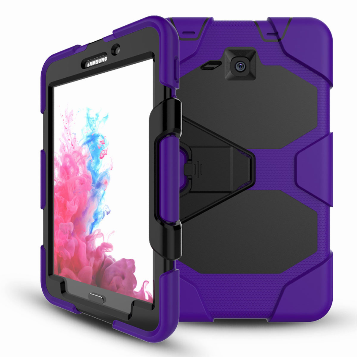 Tablet-Case-For-Samsung-Galaxy-Tab-A-E-S2-Screen-Protective-Hybrid-Rubber-Cover thumbnail 21