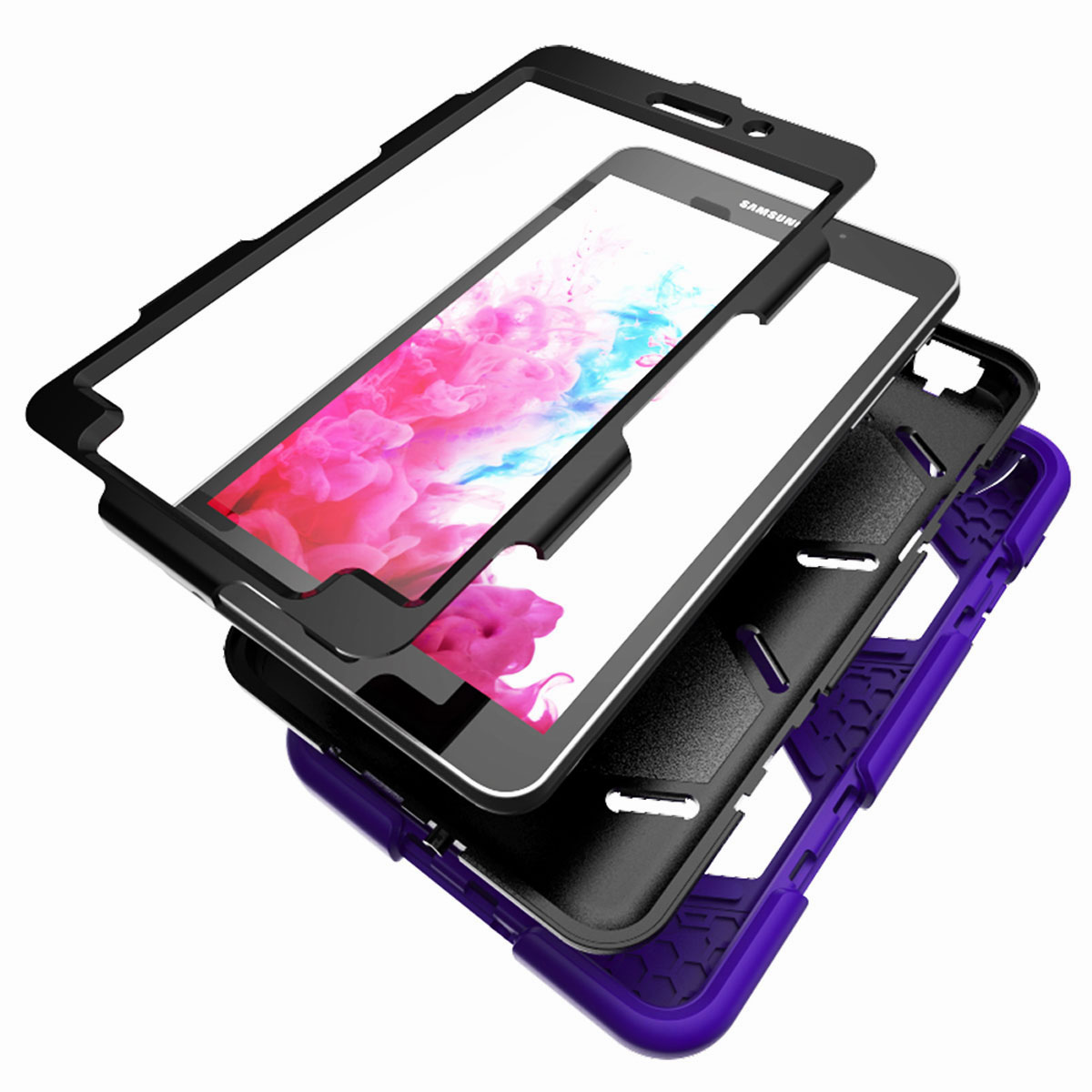 Tablet-Case-For-Samsung-Galaxy-Tab-A-E-S2-Screen-Protective-Hybrid-Rubber-Cover thumbnail 20