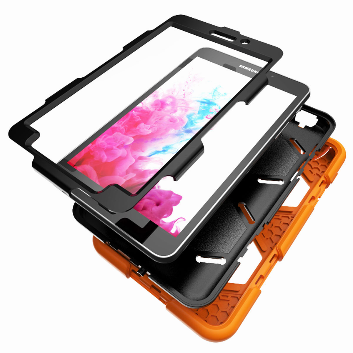 Tablet-Case-For-Samsung-Galaxy-Tab-A-E-S2-Screen-Protective-Hybrid-Rubber-Cover thumbnail 26