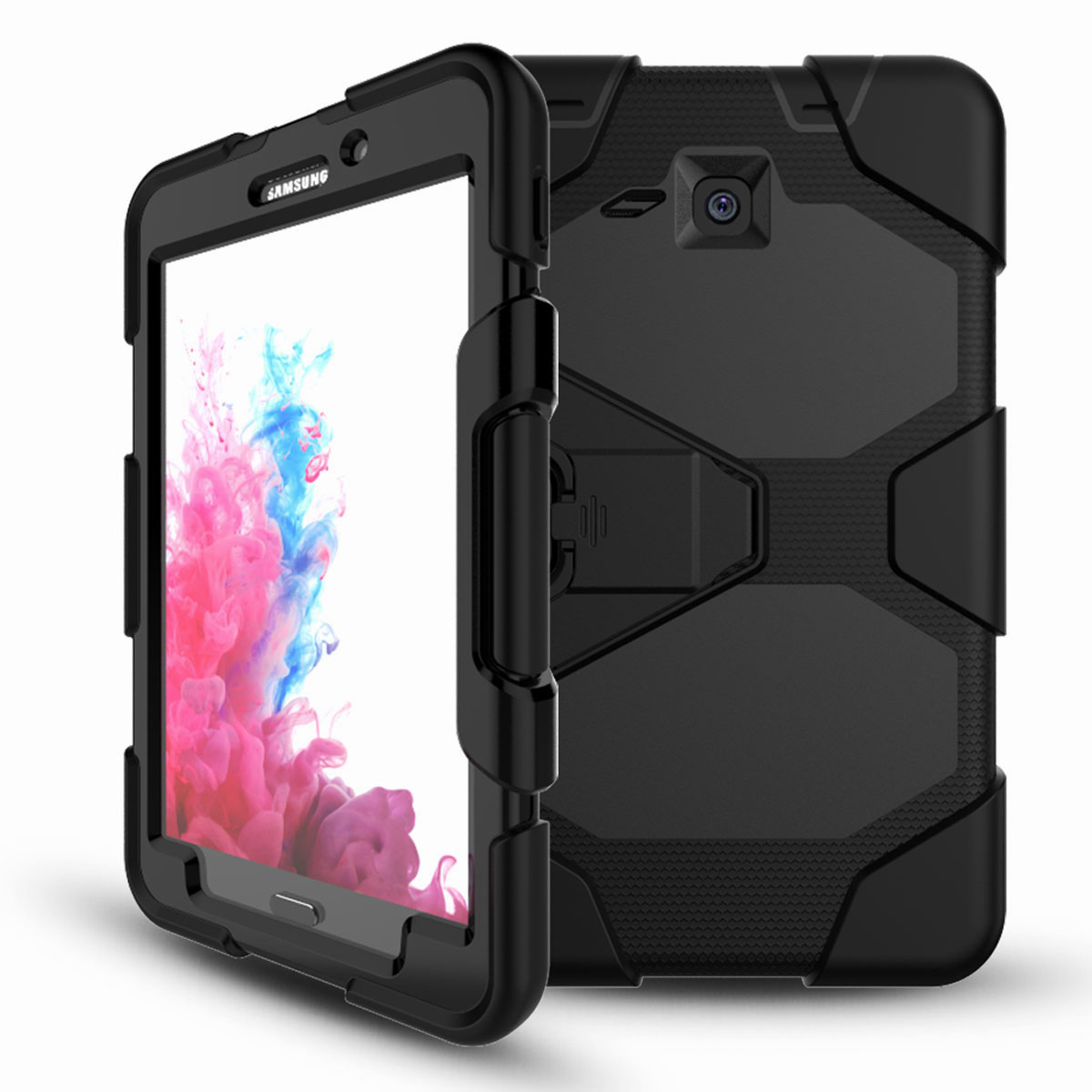 Tablet-Case-For-Samsung-Galaxy-Tab-A-E-S2-Screen-Protective-Hybrid-Rubber-Cover thumbnail 33