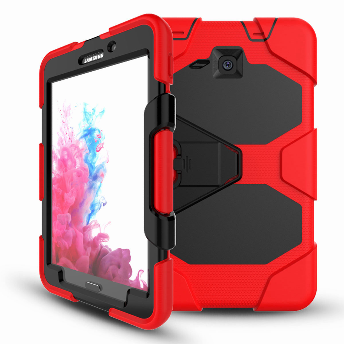 Tablet-Case-For-Samsung-Galaxy-Tab-A-E-S2-Screen-Protective-Hybrid-Rubber-Cover thumbnail 36