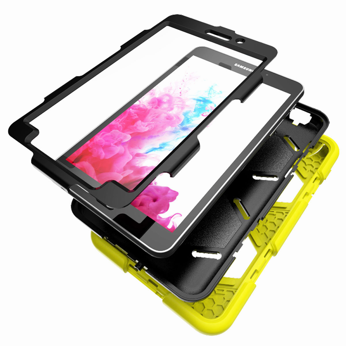 Tablet-Case-For-Samsung-Galaxy-Tab-A-E-S2-Screen-Protective-Hybrid-Rubber-Cover thumbnail 38