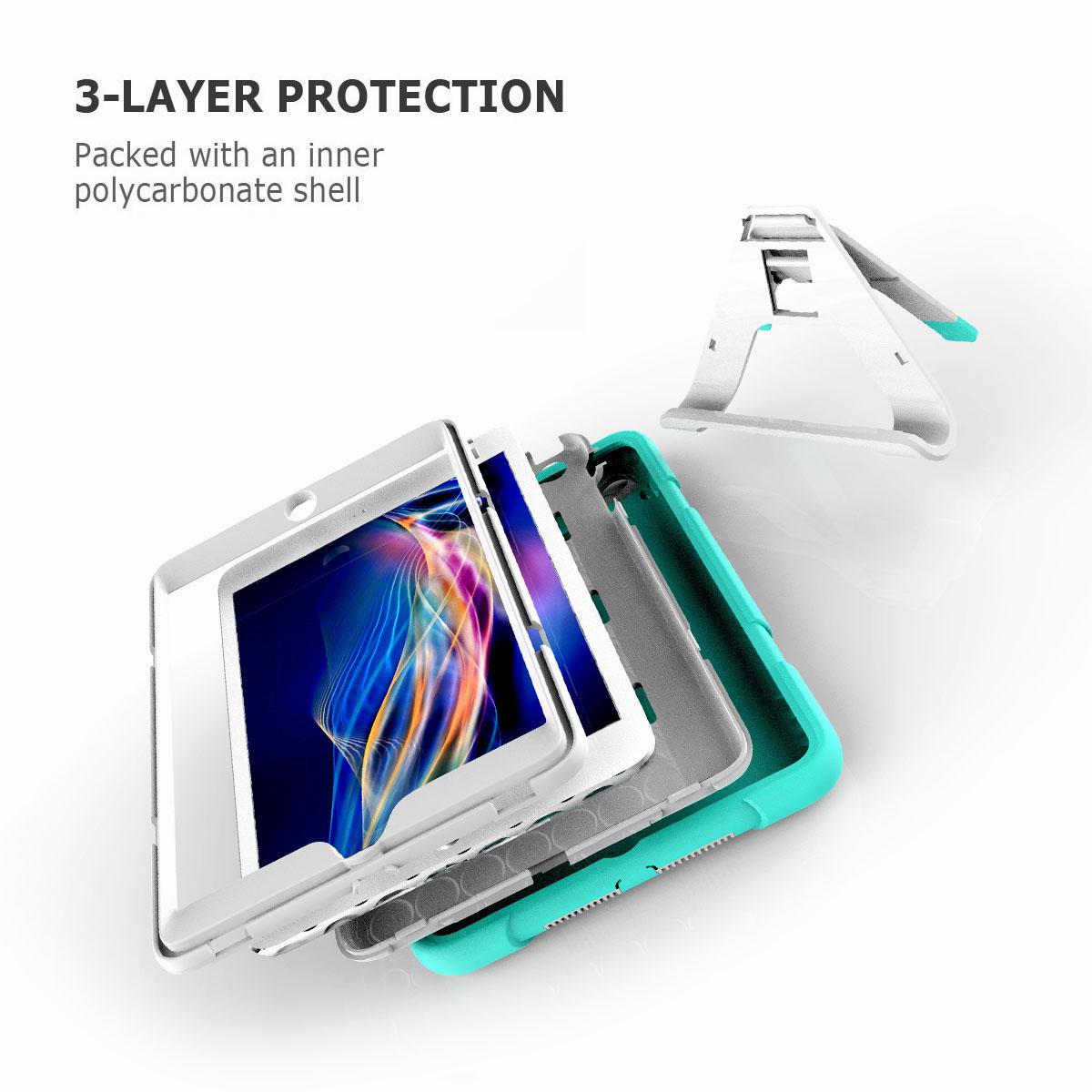 Luxury-Shockproof-Tough-Armor-with-Hard-Kickstand-Case-For-Apple-iPad-Mini-1-2-3 thumbnail 16