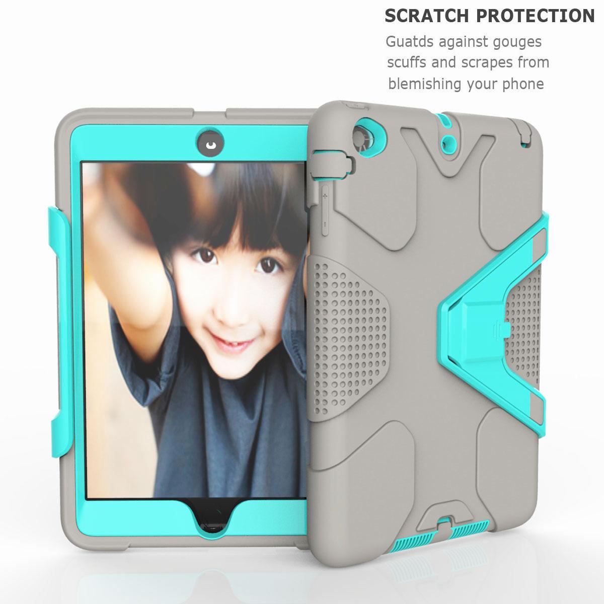 Luxury-Shockproof-Tough-Armor-with-Hard-Kickstand-Case-For-Apple-iPad-Mini-1-2-3 thumbnail 26