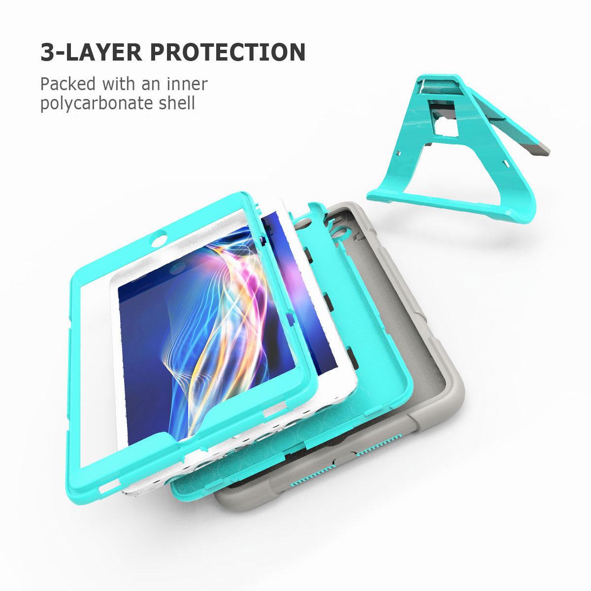 Luxury-Shockproof-Tough-Armor-with-Hard-Kickstand-Case-For-Apple-iPad-Mini-1-2-3 thumbnail 28