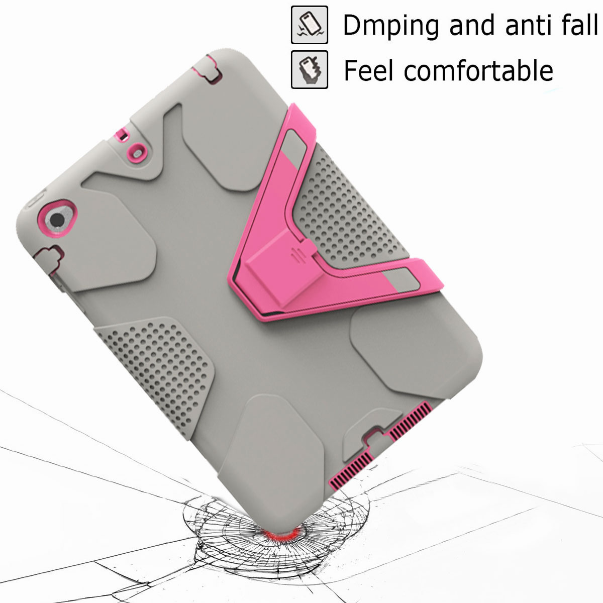 Luxury-Shockproof-Tough-Armor-with-Hard-Kickstand-Case-For-Apple-iPad-Mini-1-2-3 thumbnail 31