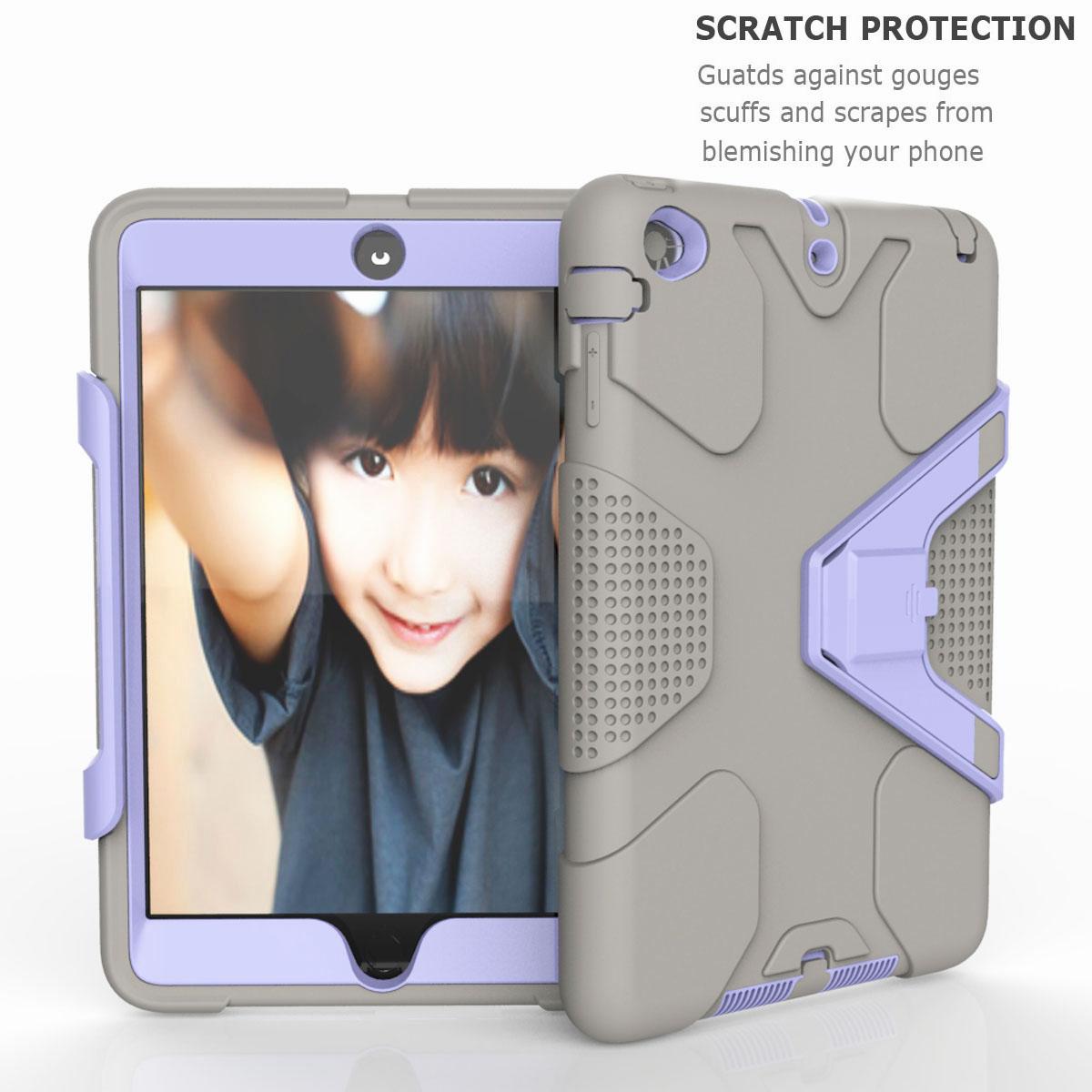 Luxury-Shockproof-Tough-Armor-with-Hard-Kickstand-Case-For-Apple-iPad-Mini-1-2-3 thumbnail 34