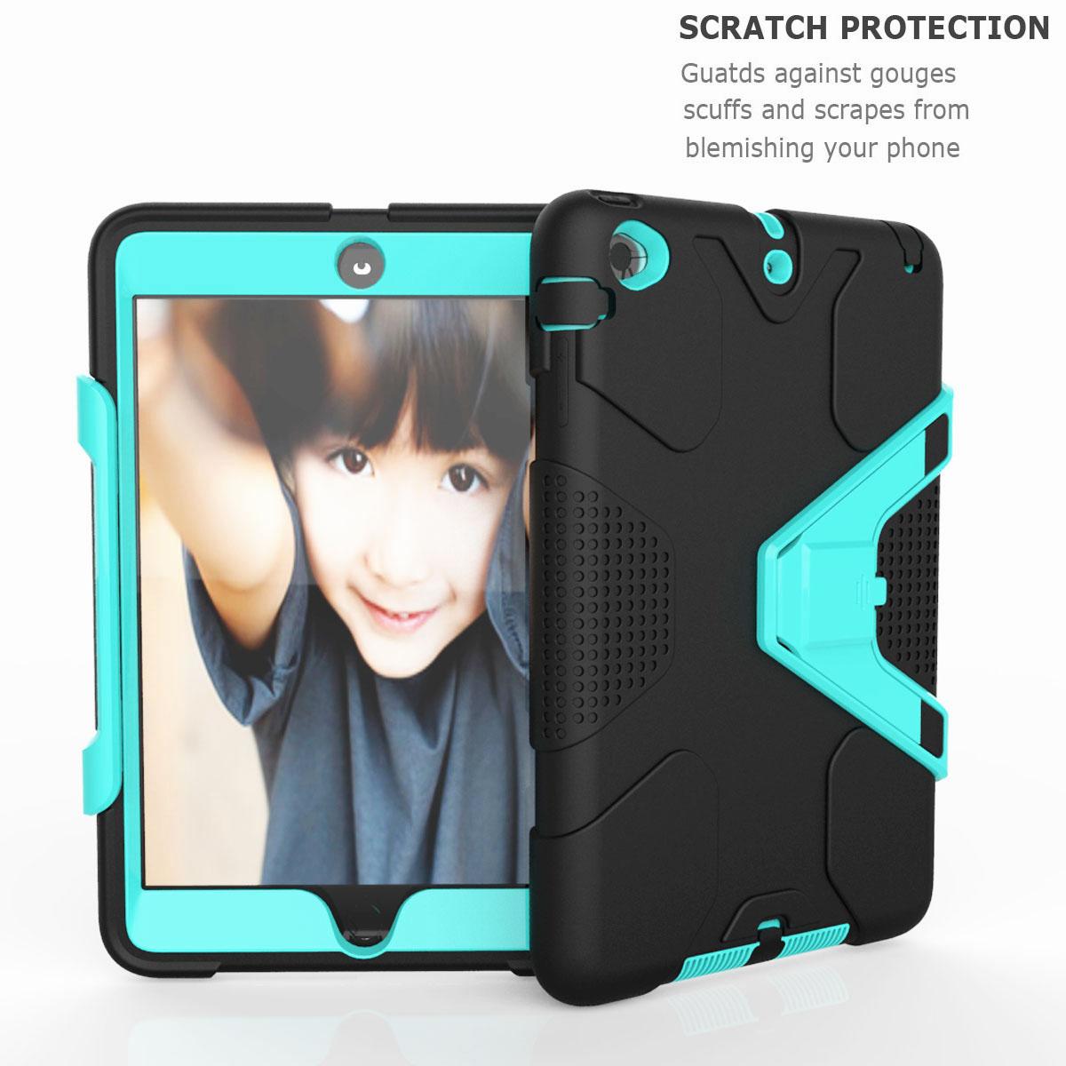 Luxury-Shockproof-Tough-Armor-with-Hard-Kickstand-Case-For-Apple-iPad-Mini-1-2-3 thumbnail 42