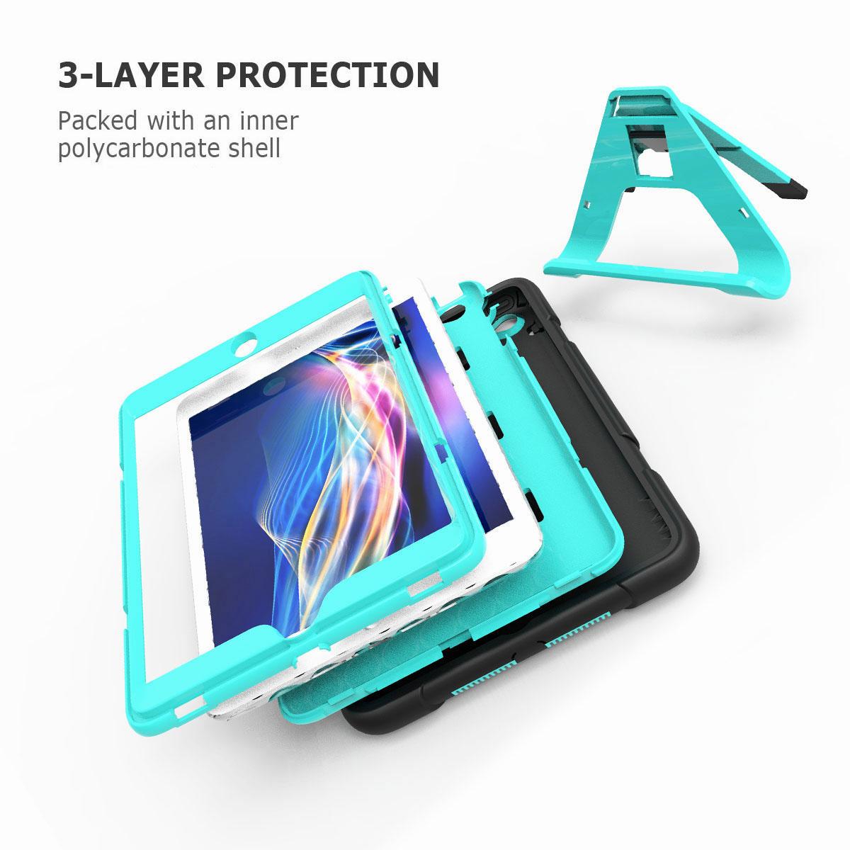 Luxury-Shockproof-Tough-Armor-with-Hard-Kickstand-Case-For-Apple-iPad-Mini-1-2-3 thumbnail 44