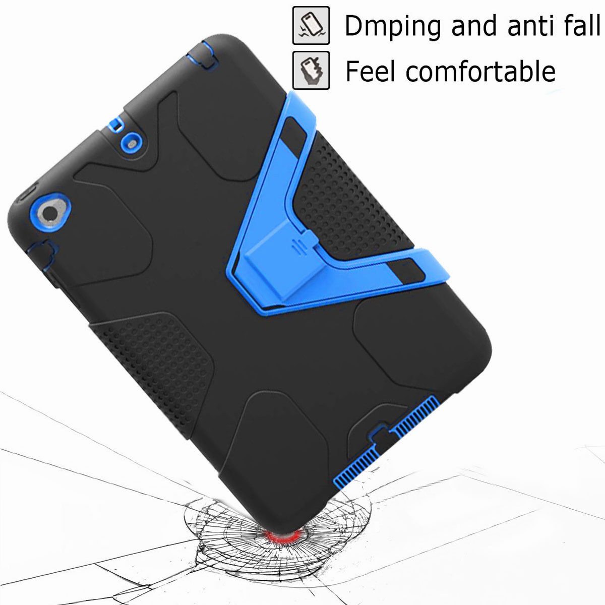 Luxury-Shockproof-Tough-Armor-with-Hard-Kickstand-Case-For-Apple-iPad-Mini-1-2-3 thumbnail 47