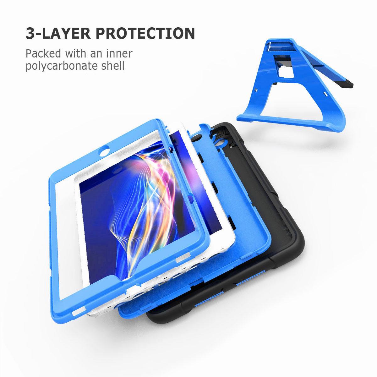 Luxury-Shockproof-Tough-Armor-with-Hard-Kickstand-Case-For-Apple-iPad-Mini-1-2-3 thumbnail 48