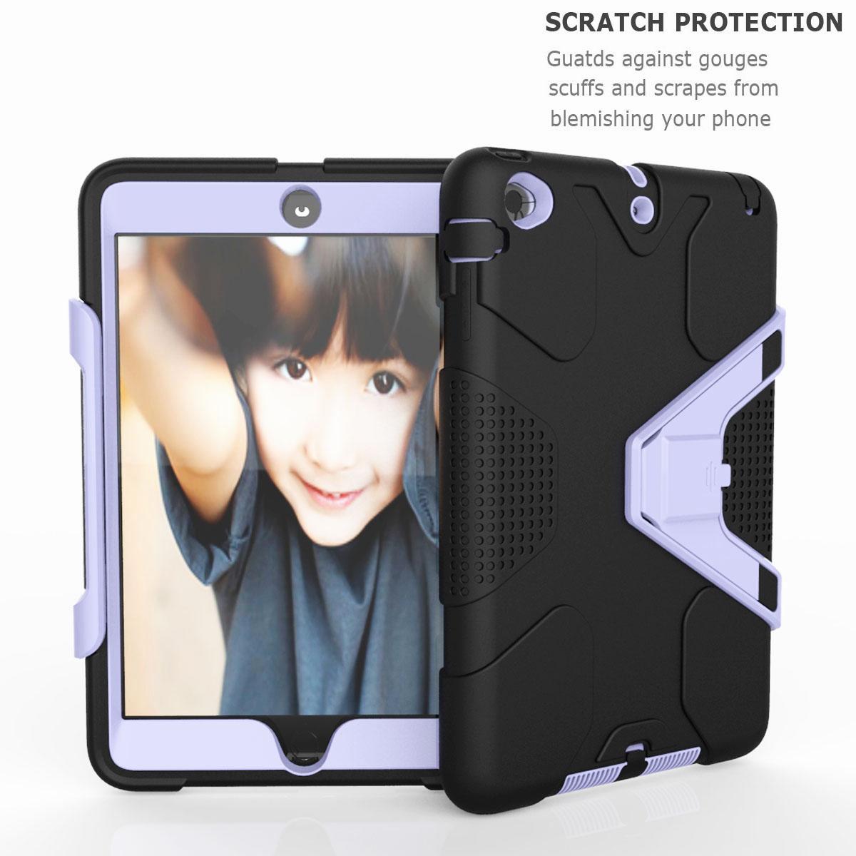 Luxury-Shockproof-Tough-Armor-with-Hard-Kickstand-Case-For-Apple-iPad-Mini-1-2-3 thumbnail 50