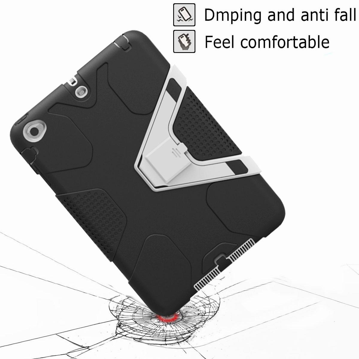 Luxury-Shockproof-Tough-Armor-with-Hard-Kickstand-Case-For-Apple-iPad-Mini-1-2-3 thumbnail 55