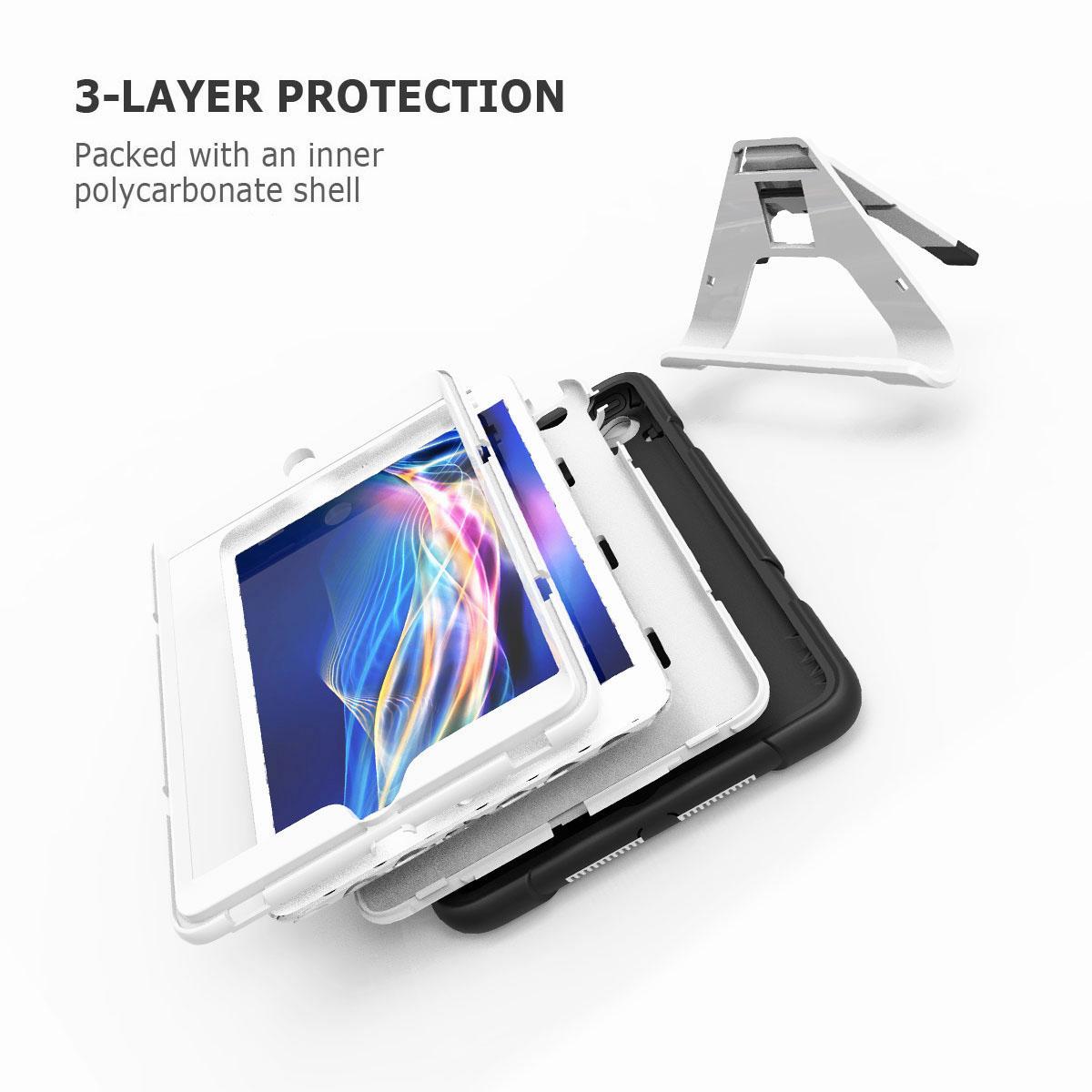 Luxury-Shockproof-Tough-Armor-with-Hard-Kickstand-Case-For-Apple-iPad-Mini-1-2-3 thumbnail 56