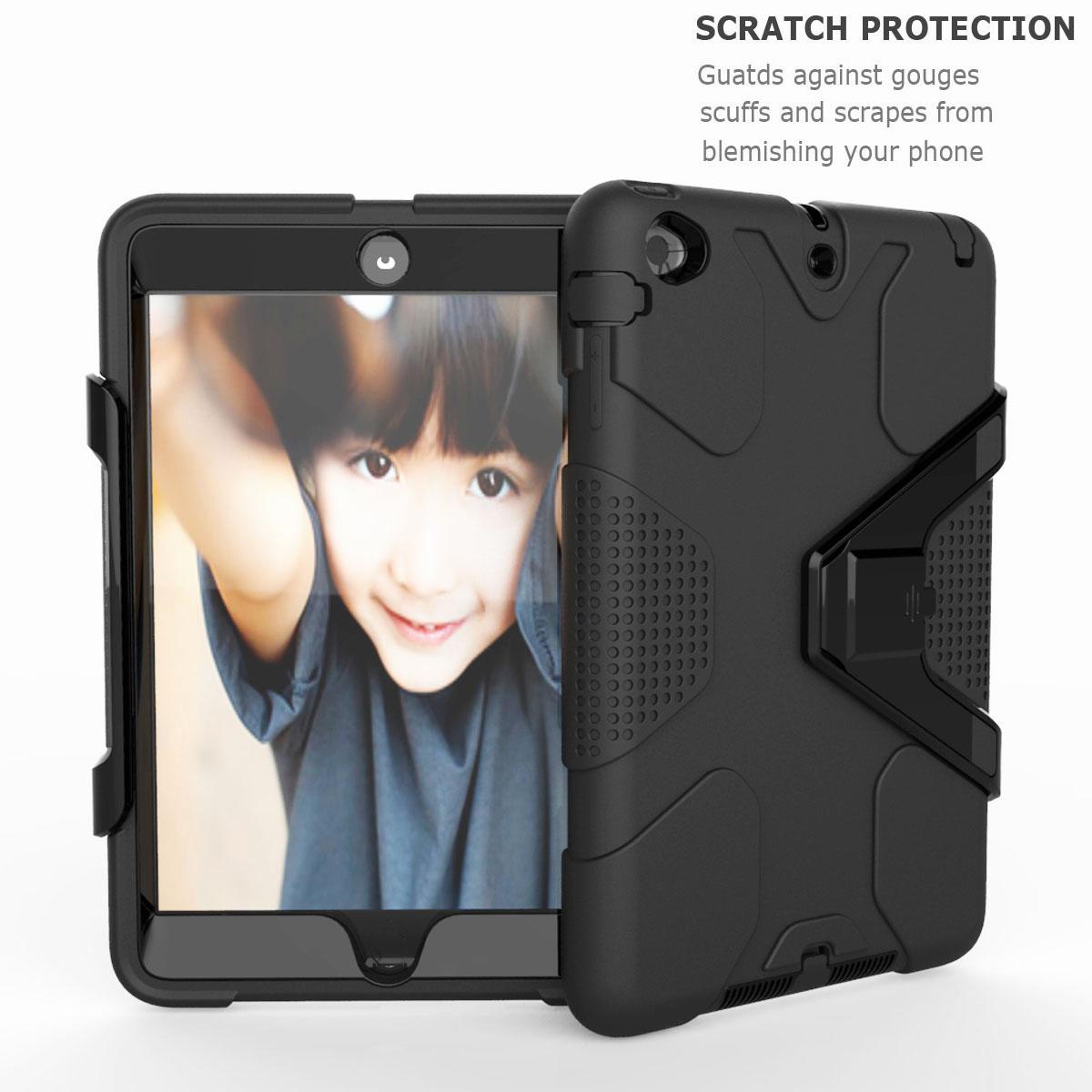 Luxury-Shockproof-Tough-Armor-with-Hard-Kickstand-Case-For-Apple-iPad-Mini-1-2-3 thumbnail 58