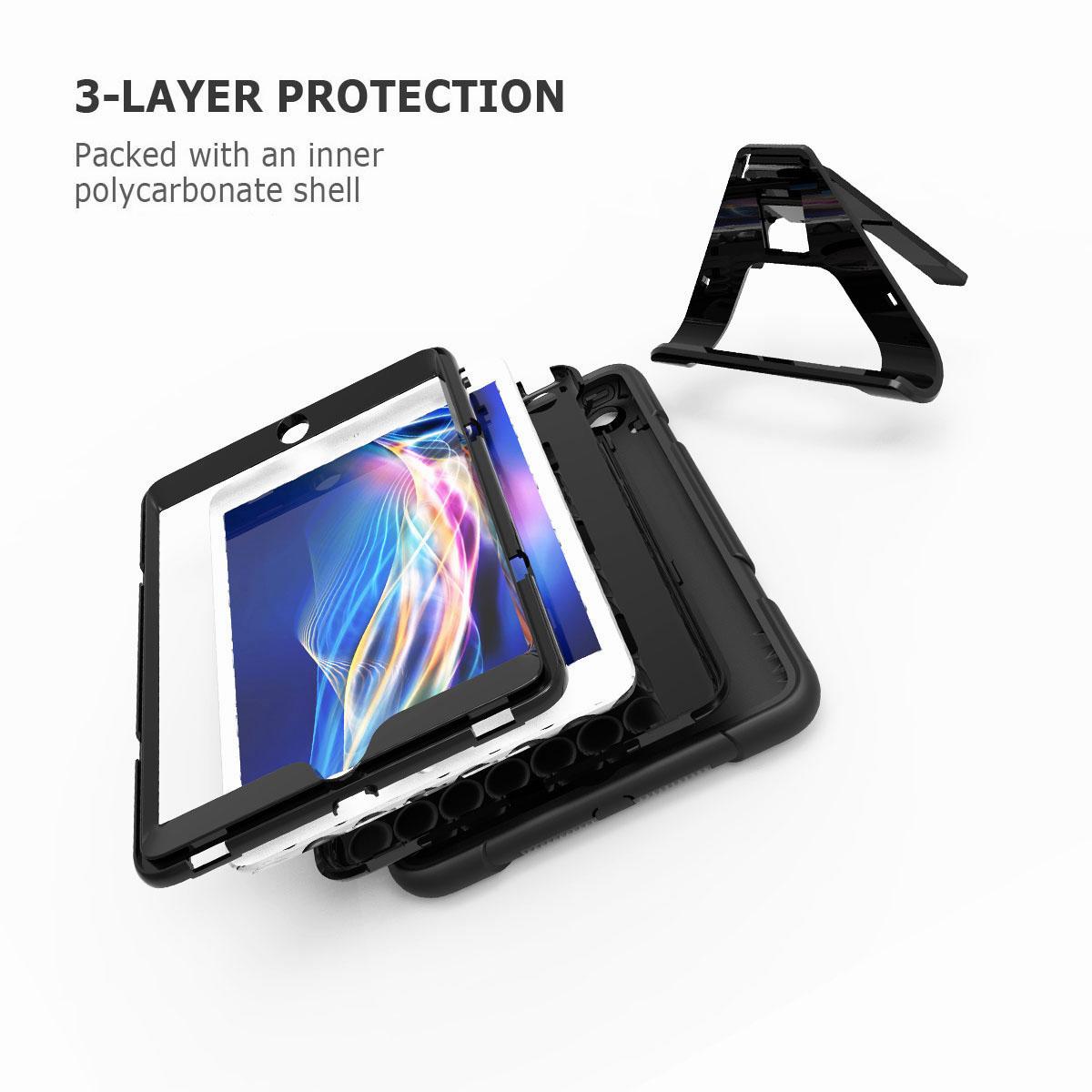 Luxury-Shockproof-Tough-Armor-with-Hard-Kickstand-Case-For-Apple-iPad-Mini-1-2-3 thumbnail 60