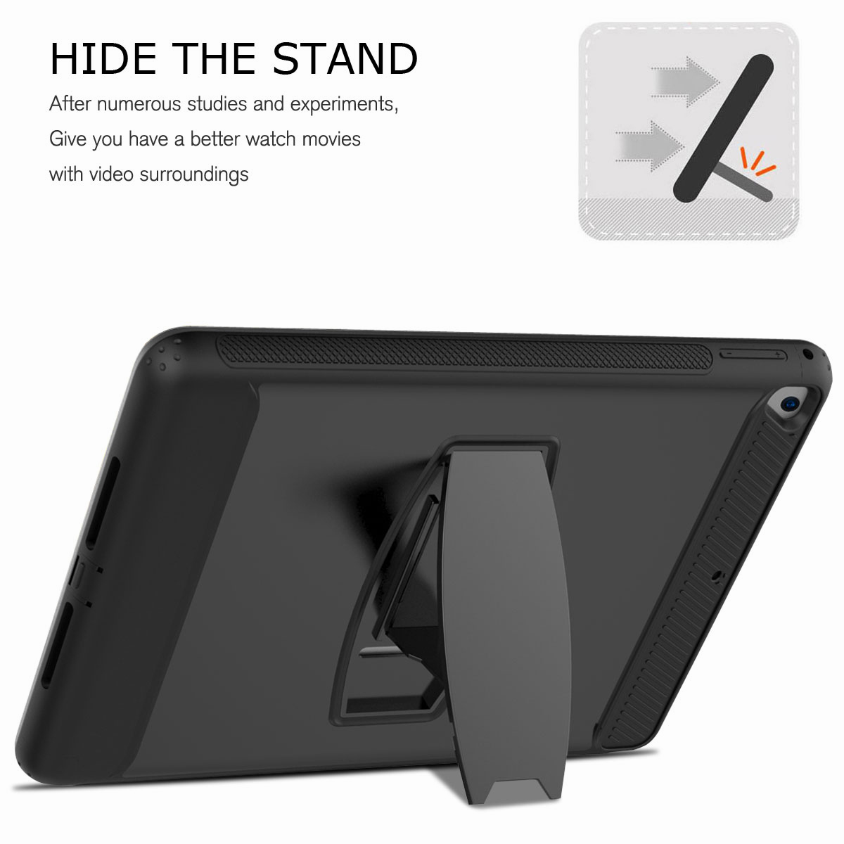 For-Apple-iPad-Air-2-A1566-A1567-Hybrid-Rubber-Shockproof-Hard-Stand-Cover-Case thumbnail 15