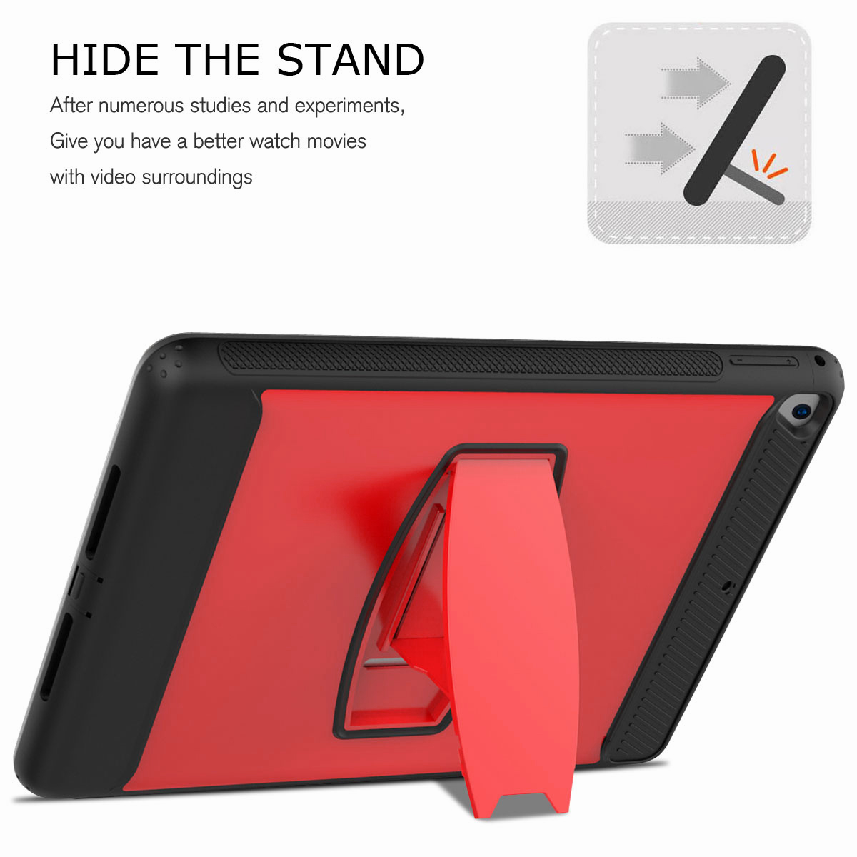 For-Apple-iPad-Air-2-A1566-A1567-Hybrid-Rubber-Shockproof-Hard-Stand-Cover-Case thumbnail 32