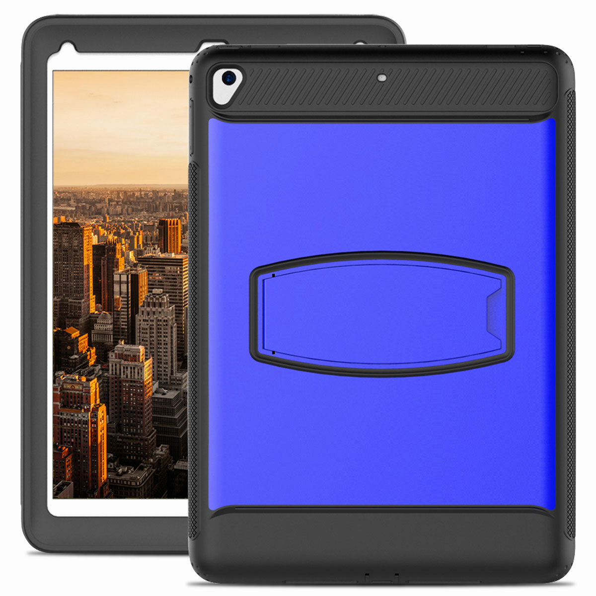 For-Apple-iPad-Air-2-A1566-A1567-Hybrid-Rubber-Shockproof-Hard-Stand-Cover-Case thumbnail 34