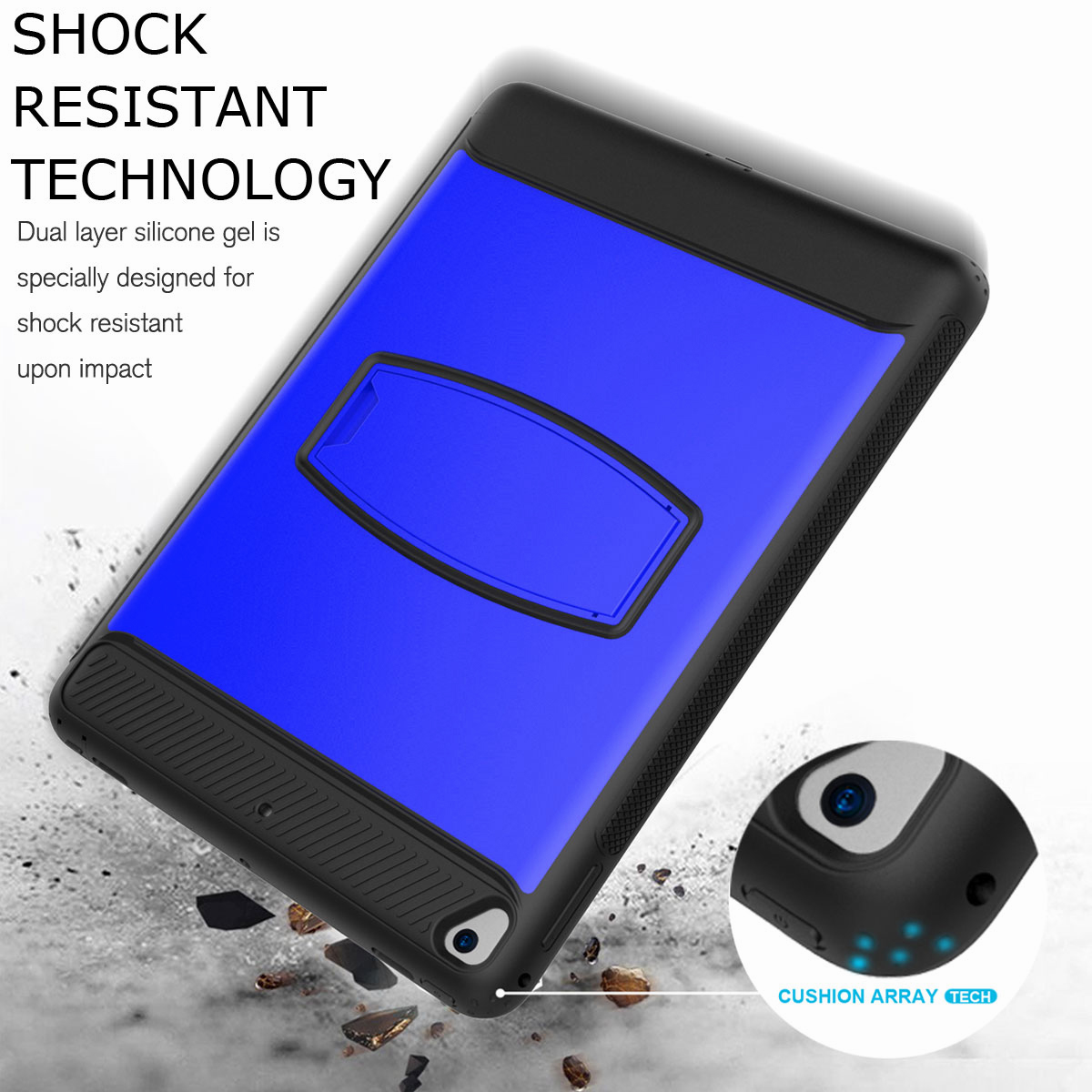 For-Apple-iPad-Air-2-A1566-A1567-Hybrid-Rubber-Shockproof-Hard-Stand-Cover-Case thumbnail 40