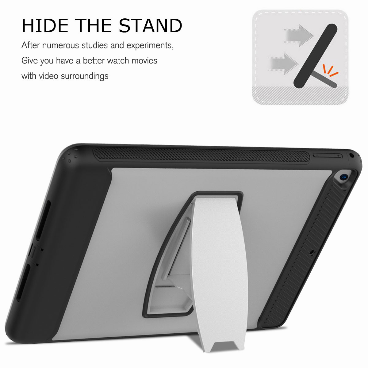 For-Apple-iPad-Air-2-A1566-A1567-Hybrid-Rubber-Shockproof-Hard-Stand-Cover-Case thumbnail 43